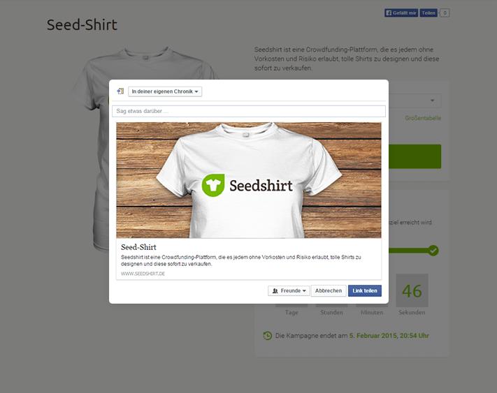 Kampagne teilen und vermarkten
